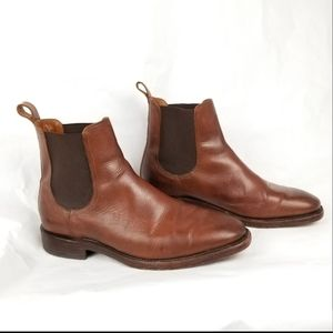 Frye Chelsea Men's Brown Leather Ankle Boots 8.5 D